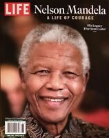LIFE MAGAZINE SPECIAL EDITION NELSON MANDELA A LIFE OF COURAGE HIS LEGACY NEW