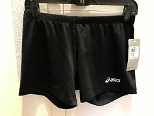 BRAND NEW WITH TAGS! Asics Ladies Court Shorts Black, Exercise/Sports Apparel