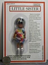 Dollhouse Miniature Doll Girl Lil Sister 1:12 one inch scale D22 Dollys Gallery