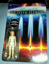 THE FIFTH ELEMENT LEELOO STRAPS COSTUME FUNKO REACTION FIGURE FACTORY SEALED NEW