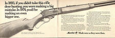 1974 Print Ad of Marlin Model 336C Lever Action Deer Rifle