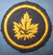 Patch Canada WW2