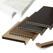 FENSTERBANK Fensterbrett für den Innenbereich FARBEN PVC Tiefe 15-35cm Meterware
