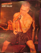 HENRY ROLLINS / VINCE NEIL : POSTER (ENGLISH MAGAZINE)