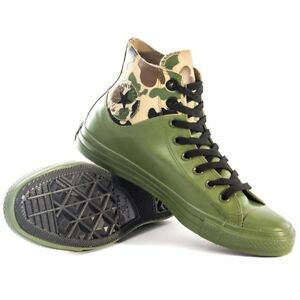 Converse Chuck Taylor All Star 151068C Camouflage/Green Shoes Men's Size 8.5