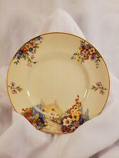 """Vintage Swinnertons Old England Garden 6.5"""" Desert Plate HAMPTON IVORY"""
