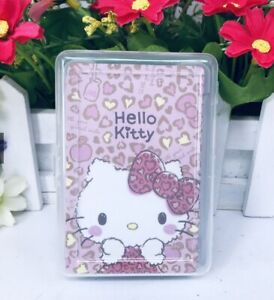Hello Kitty Cute Playing Cards Poker Melody Plastic Case Little Twin Stars Gift