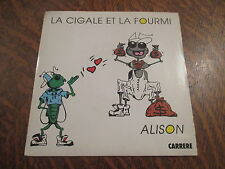 45 Tours Alison - La cigale et la fourmi
