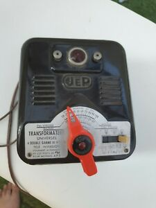 Transformateur Jep 110-220 volts Serie 6053U