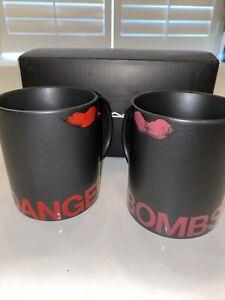 MAC Cosmetics Coffee/Tea Mug - Stainless Steel - Rare! Black Employee Gift