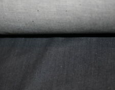 Jeans-Stoff Denim leicht Stretch blau-grau Meterware ca. 1,5 m breit
