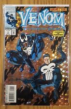 VENOM Funeral Pyre #1 (1993) Marvel Comics THE PUNISHER 1st Issue Movie Soon VF+