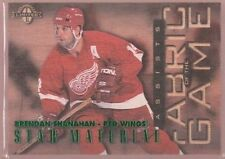 BRENDAN SHANAHAN 750 $12 LIMITED FABRIC OF THE GAME FOTG WOOD SP 1997-98 DONRUSS