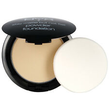 NYX HD Studio Stay Matte But Not Flat Powder Foundation SMP02 Nude