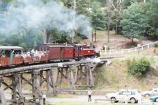 PHOTO  2004 AUSTRALIA RAILWAY MELBOURNE BELGRAVE PUFFING BILLY RAILWAY TRAIN CRO