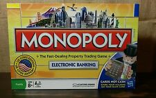 2008 Monopoly Electronic Banking Parker Brothers US Cities Edition COMPLETE SET