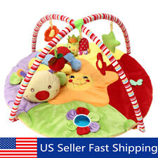 Baby Gym Floor Play Mat Musical Animal Activity Center Kick And Play Kid Toy