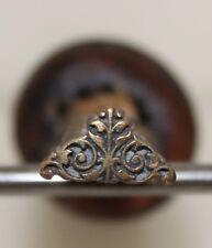 Fer à Dorer Fleuron Alde modèle XVIe Bronze Reliure Doreur signé Bearel #6