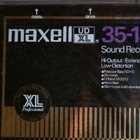 maxell Open reel tape 35-180B UD XL10 inches SEALED