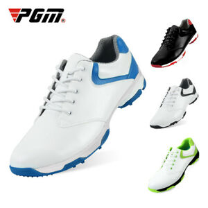 PGM Men's Golf Shoes Anti-slip Sports Shoes Waterproof Spikes Golf Sneakers