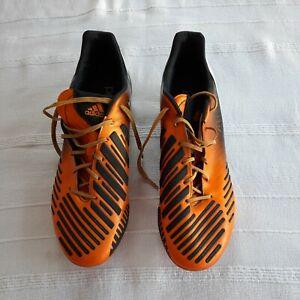 Adidas Predator LZ TRX FG Orange Black mens UK10 US 10.5 RARE 2012