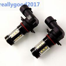 LED Fog Lights bulbs For 2008 - 2012 Mitsubishi Eclipse Galant 6000K 80W 9145 CA