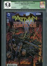 Batman/TMNT #2  (Signed & Sketch)  CGC (Q) 9.8  WP  ((Qualified Grade))