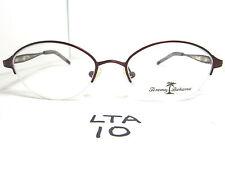 c275e1ba99 New TOMMY BAHAMA Eyeglass Frame TB12 Sedona Half Rimless Burgundy (LTA-10)