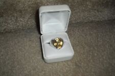 NA HOKU WYLAND GALLERY 7 CT CITRINE STERLING SIVER ARTIST RING SZ 10 EUC$299