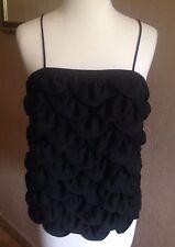 $2,200 CHANEL Black 09C Black Tank Top Dress Blouse FR 38 US 6