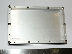 """Milled RF Shielded Aluminum Chassis Enclosure for 4"""" x 6"""" PCB,10 mm depth"""