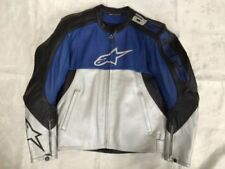 Alpinestars Waist Length Cowhide Leather Exact Motorcycle Jackets