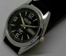 vintage citizen automatic men's japan made movement No 8200 run order