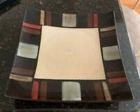 "Pfaltzgraff TAHOE 9 1/4"" Square Luncheon Plates Set of 6"