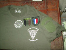 French Foreign Legion-2 REP-La Fayette-Afghanistan-set patches+ t-shirt