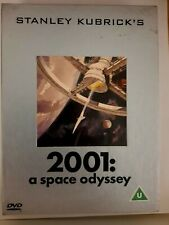2001 a space odyssey Deluxe Collector's set DVD+Film Cell/Booklet/Sound Track CD