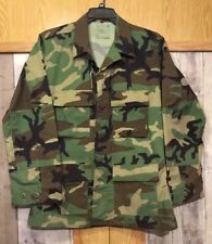 "Army Green Camo Men's Regular M Button Down ""NWT..light Weight Jacket..(AA)"