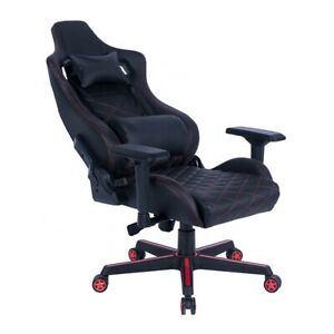 Office Gaming Chair Racing Home Computer Chair Adjustable Chair Black