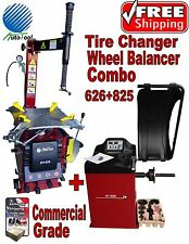 NEW TIRE CHANGER WHEEL CHANGER MACHINE BALANCER RIM CLAMP COMBO 626-825
