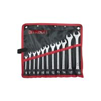 AMTECH 11pc COMBINATION SPANNER SET 6-19MM WRENCH DROP FORGED