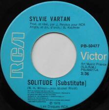 *SYLVIE VARTAN Solitude / Tu me plais CANADA ORIG 1978 MEGA RARE RCA 45 FRENCH