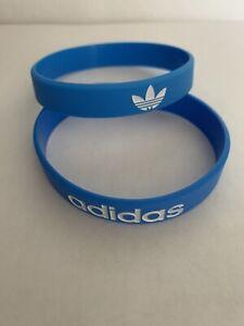 Adidas Sport Baller Band Silicone Blue w/White  logo