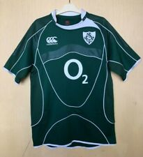 RUGBY IRELAND NATIONAL TEAM 2007/2009 HOME CANTERBURY SHIRT MAGLIA JERSEY