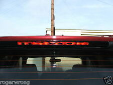 Mazda Protege5 3rd brake light decal overlay 02 03