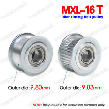 MXL16T Idler Timing Belt Pulley 3mm Bore W/Ball Bearing For 6/10mm Width Belt