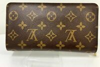 Auth Louis Vuitton Authentic Long Zippy Wallet Zippy Monogram Spain Y-1074