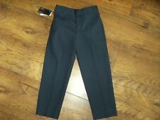 NEW AUTOGRAPH MARKS & SPENCERS NAVY BLUE TROUSERS WITH ADJUSTABLE WAIST AGE 6