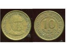 PEROU  10  centimos  1985