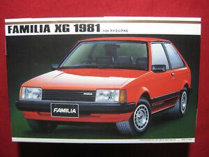 1981 Mazda Familia XG 323 GLC 1/24 Imai Motorized Model Kit Car Japan 1995 Rare