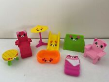 Shopkins McDonalds Happy Meal Puppy Patio Lot- Complete Set of 8